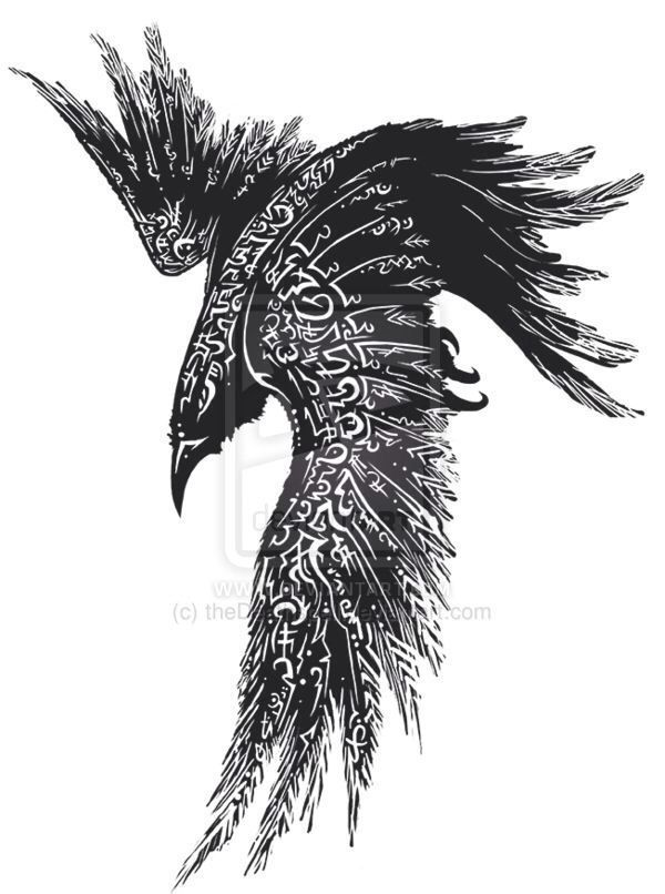 Celtic Crow Tattoo Meaning : celtic, tattoo, meaning, Complete, Celtic, Raven, Tattoo, Design, Tattoo,, Cover, Tattoos
