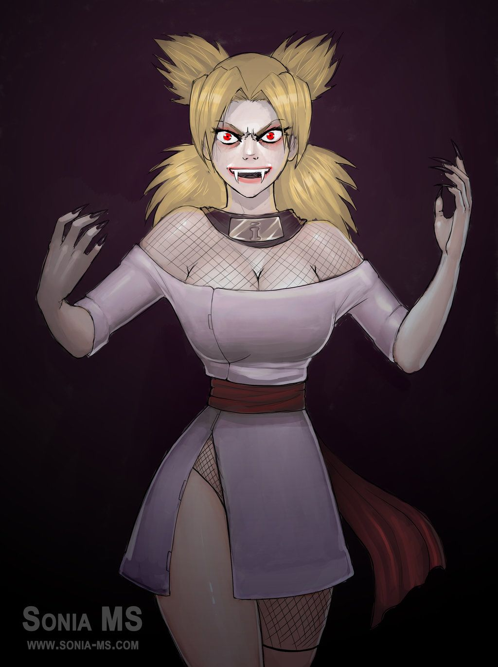 Commission: Temari vampire | Naruto girls, Anime crossover, Anime naruto