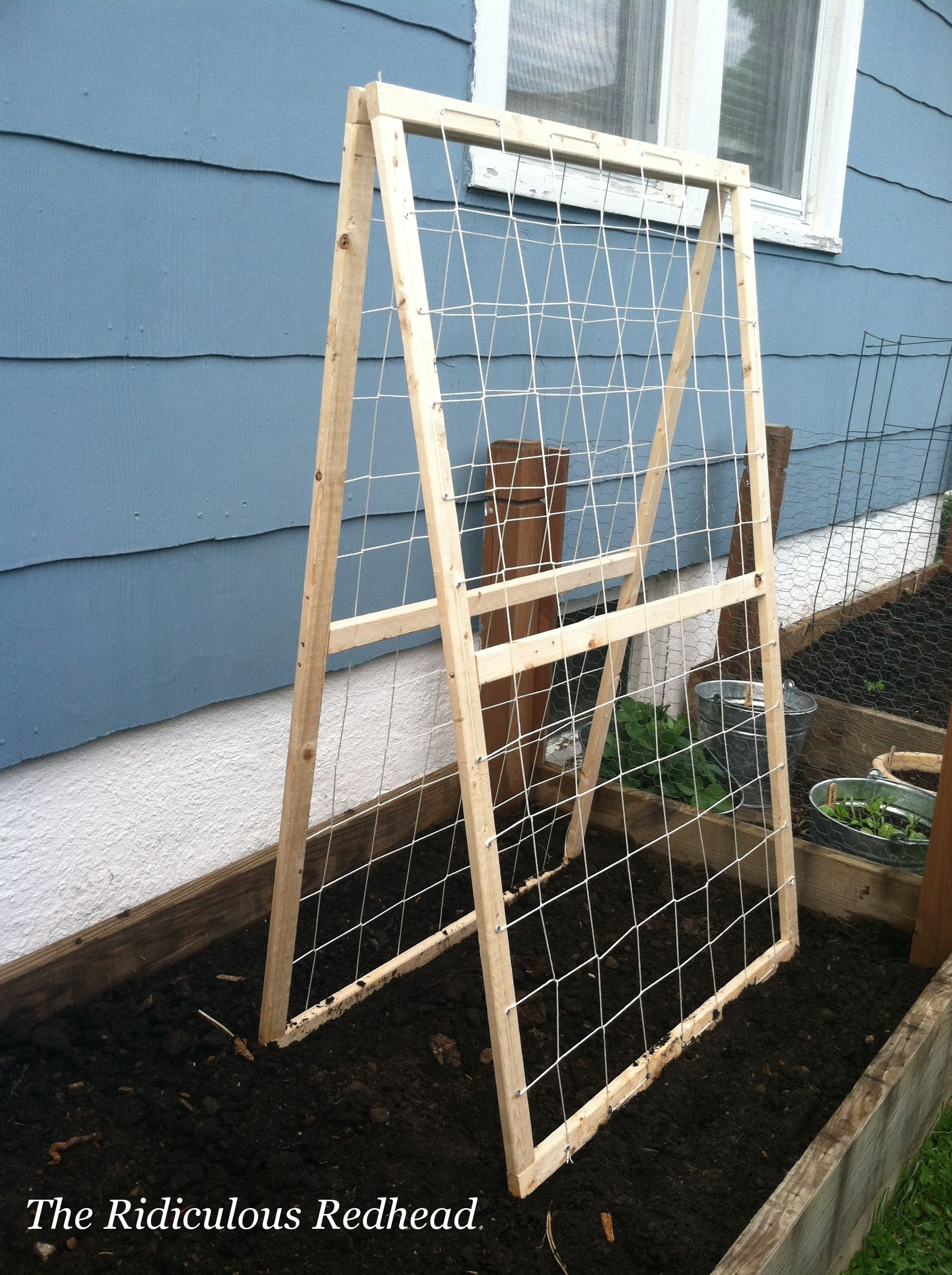 Cucumber Trellis Ideas Part - 24: I Bet I Could Use My Old Screens-remove Screen And Add The Wire? Garden  Cucumber Frame-- For Debbie!