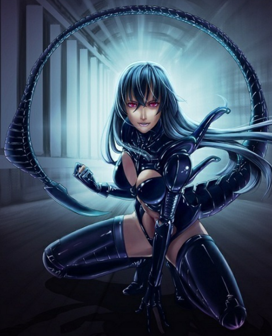 Anime Alien Girl alien xenomorph | alien girl, xenomorph, anime alien