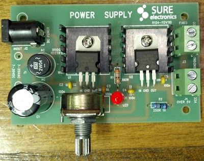 NJ2X's build of a dual-voltage linear power supply  | DIY Electronic
