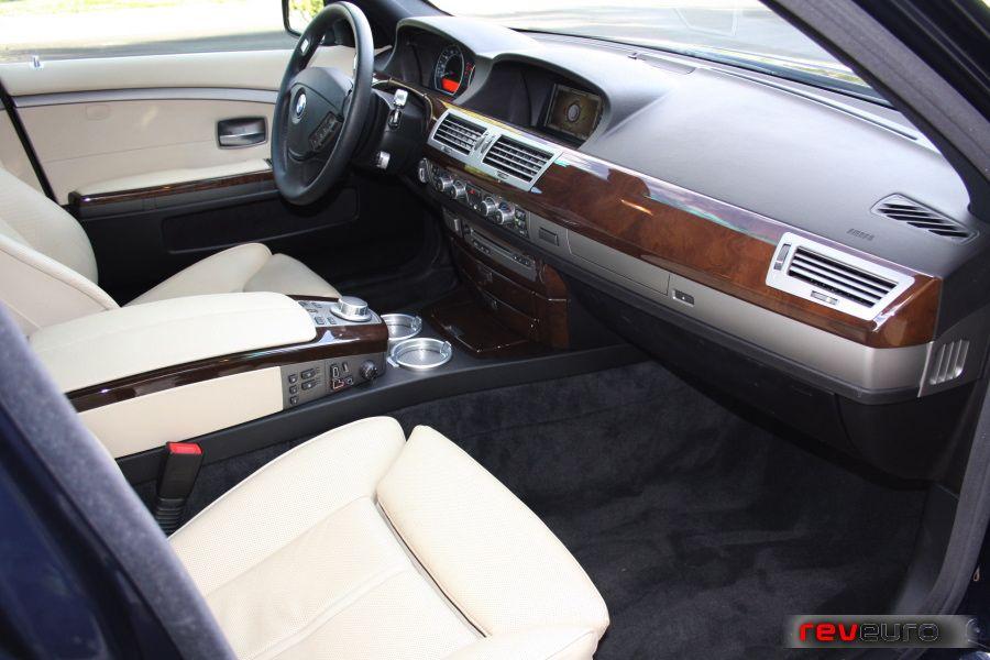Interior Of E65 7 Series Both Interior And Exterior Of E65
