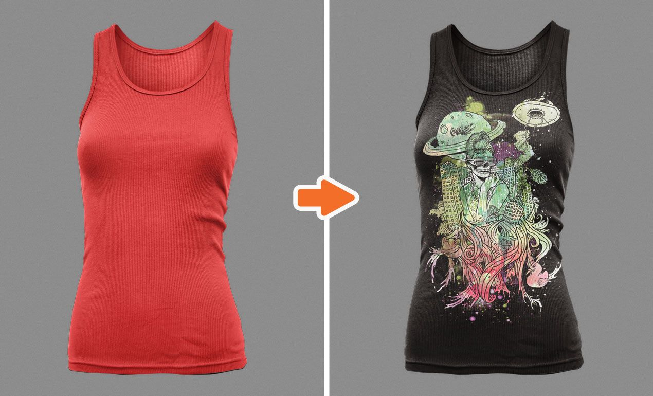 Introducing our Photoshop Ladies Tank Top Mockup Templates Pack ...