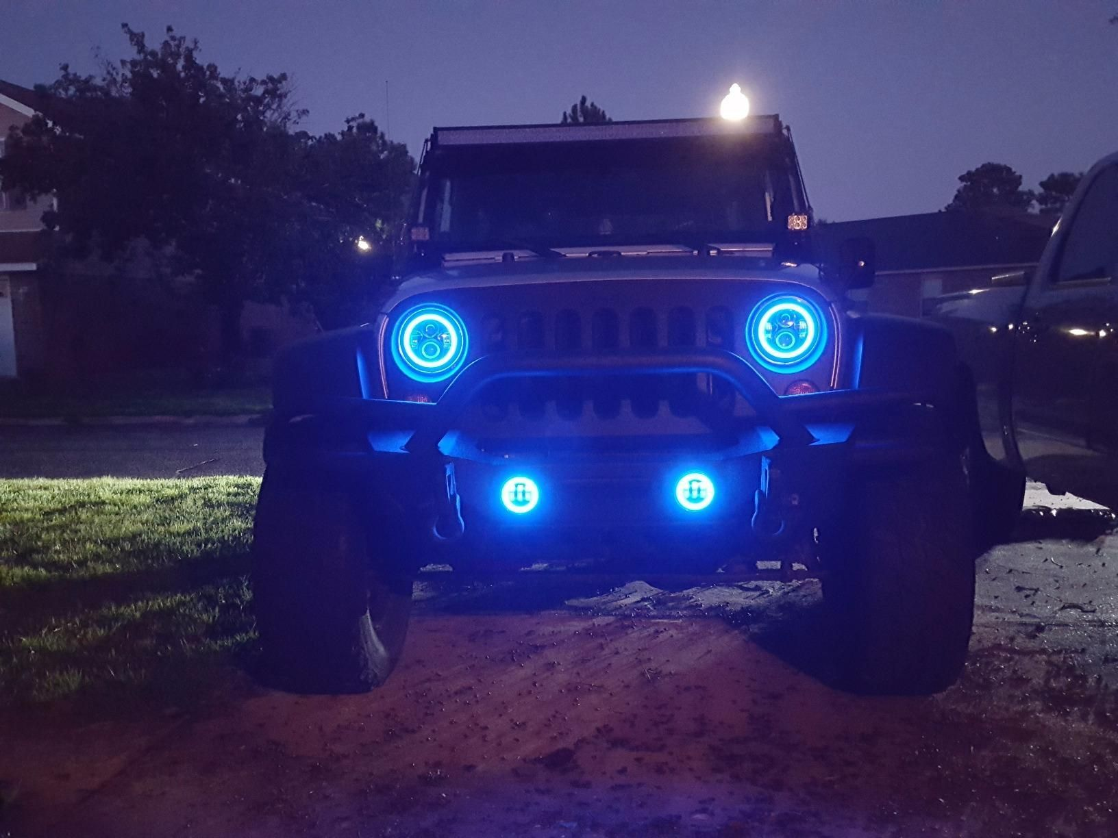 Sunpie Led Headlights For Your Jeep Jk Wrangler Youtube Jeep