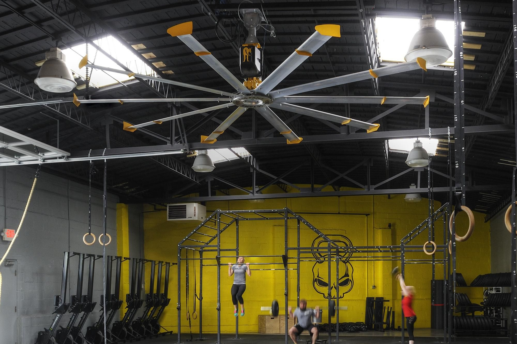 Gym ceiling fans are essentials if they