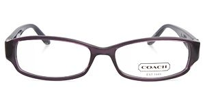 e8854d04af3c Coach Bernice 844 513 Purple eyeglasses is a mixture of casual and style.  These rectangular