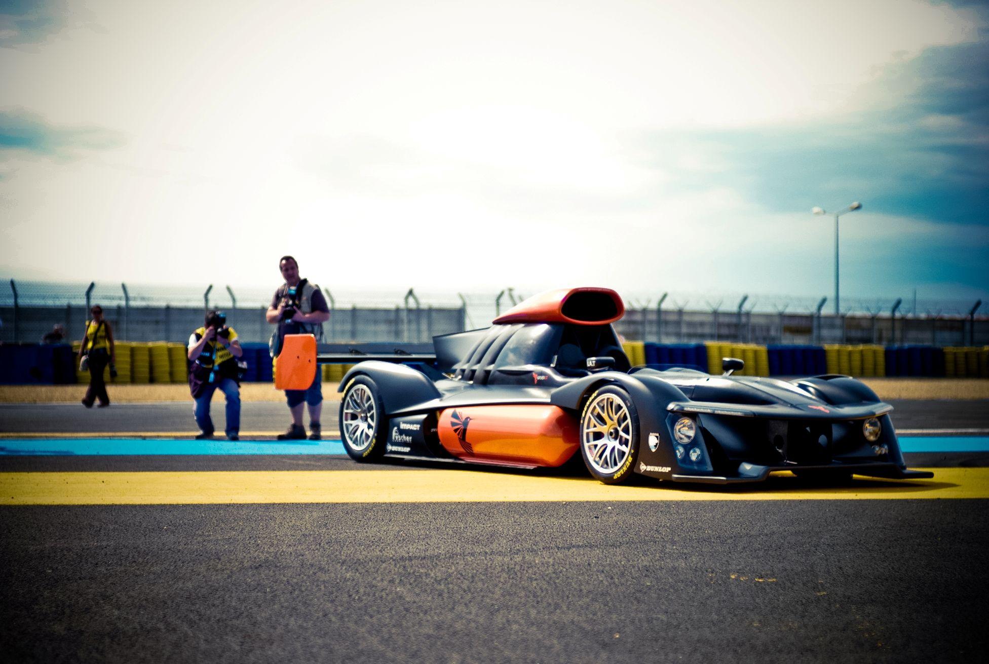 GreenGT's hydrogen race car prototype Race cars, Le mans
