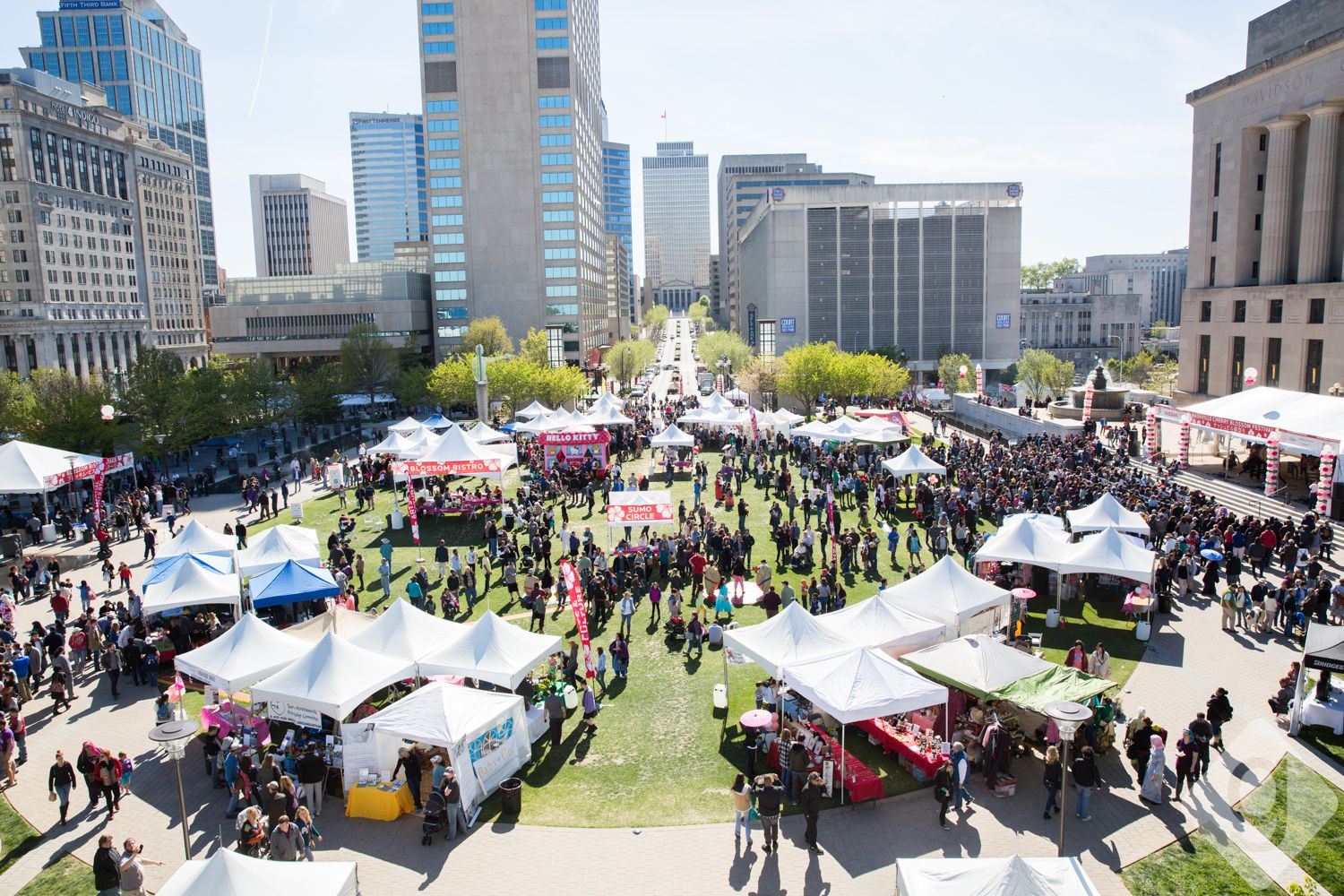 The 2018 Nashville Cherry Blossom Festival Will Be On Saturday April 14 2018 From 10 00am To 5 00pm At Public Square Park The Spring Event Nashville Event