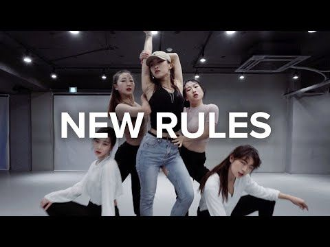 (12) New Rules - Dua Lipa / Jin Lee Choreography - YouTube   Baile. Hyuna y Videos