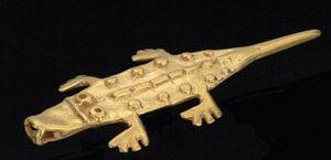 Crocodile, El Dorado treasure, British Museum 2014