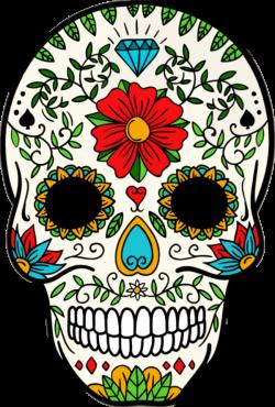 Dia De Los Muertos Clipart Dia De Los Muertos Banner Library Download Sugar Skull Artwork Skull Art Sugar Skull Art