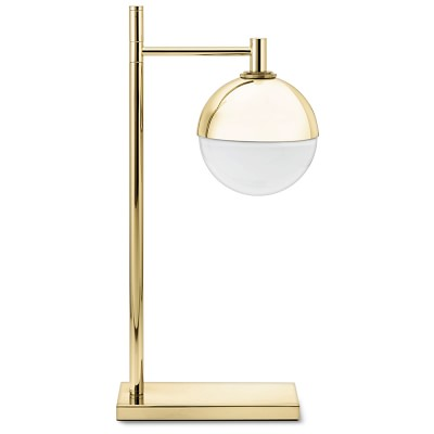 Cardiff table lamp antique brass
