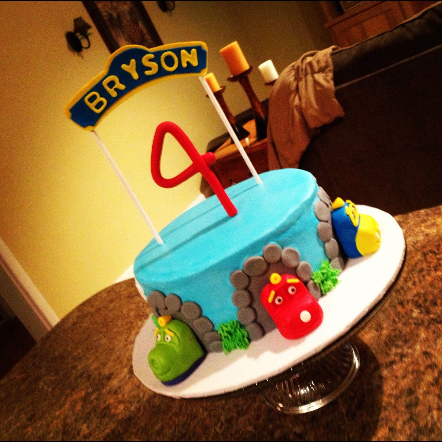 Chuggington Birthday cake Brysons 4th bday BrysonMy lil man