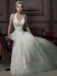 Corsetted Wedding Dress