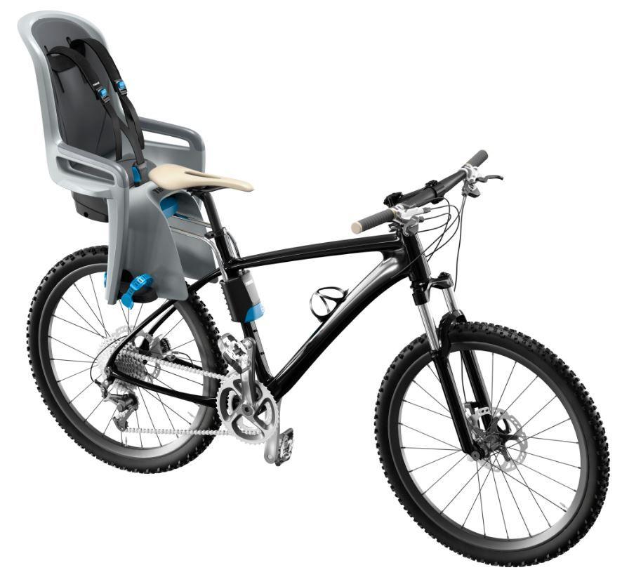 der thule ride along fahrrad kindersitz geeignet ab 9. Black Bedroom Furniture Sets. Home Design Ideas