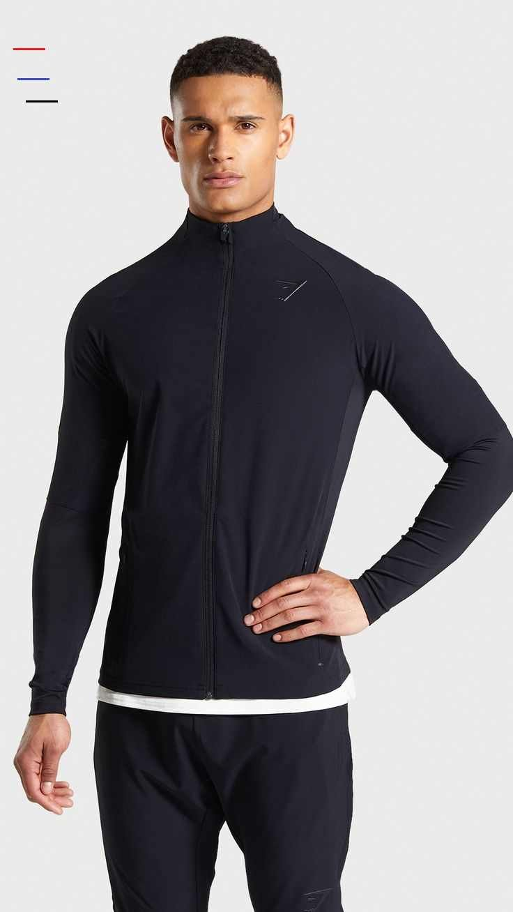 The Hyper Sport Track Top, Black. Tomorrow's technology, in your wardrobe now! Create tomorrow with...