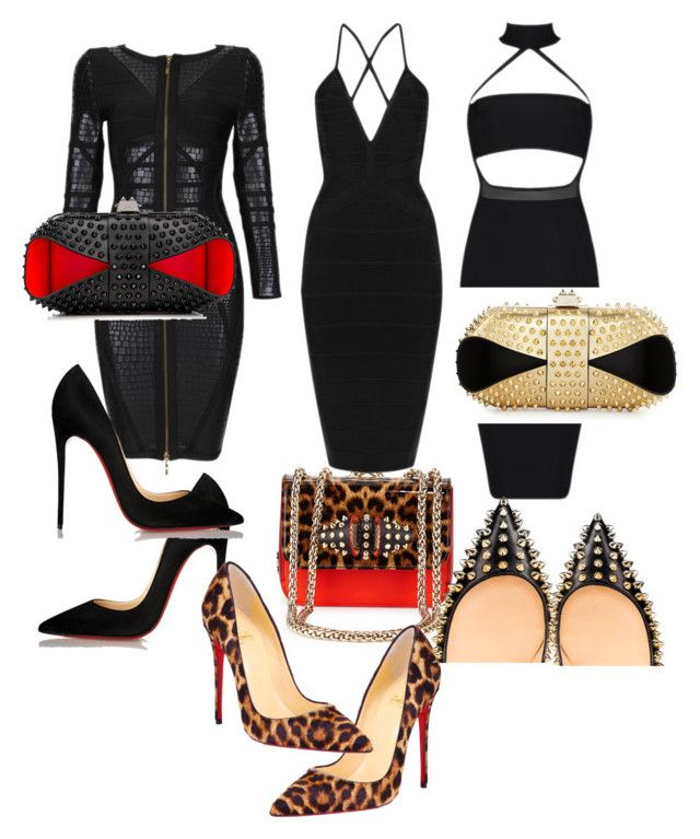 Untitled #87 by joanalisbetarroyo on Polyvore featuring polyvore, moda, style, Posh Girl, Christian Louboutin, fashion and clothing