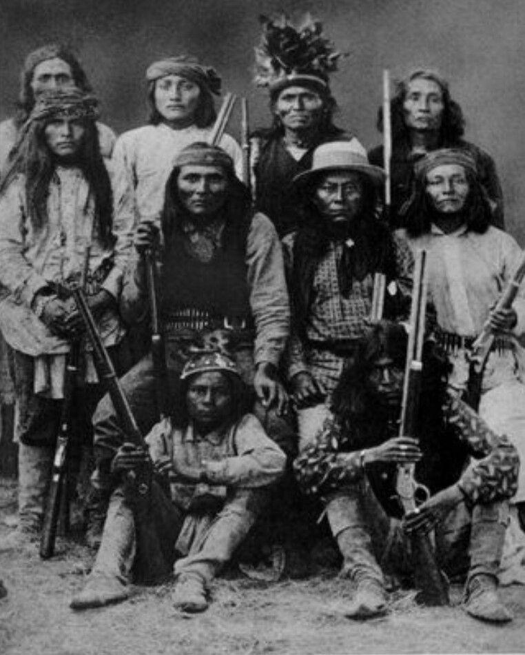Lipan Apache scouts | Indios americanos, Indios nativos americanos ...