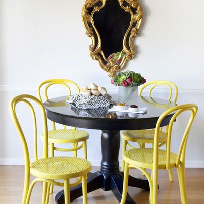 Atlanta Home Yellow Design Ideas, Pictures, Remodel, and Decor