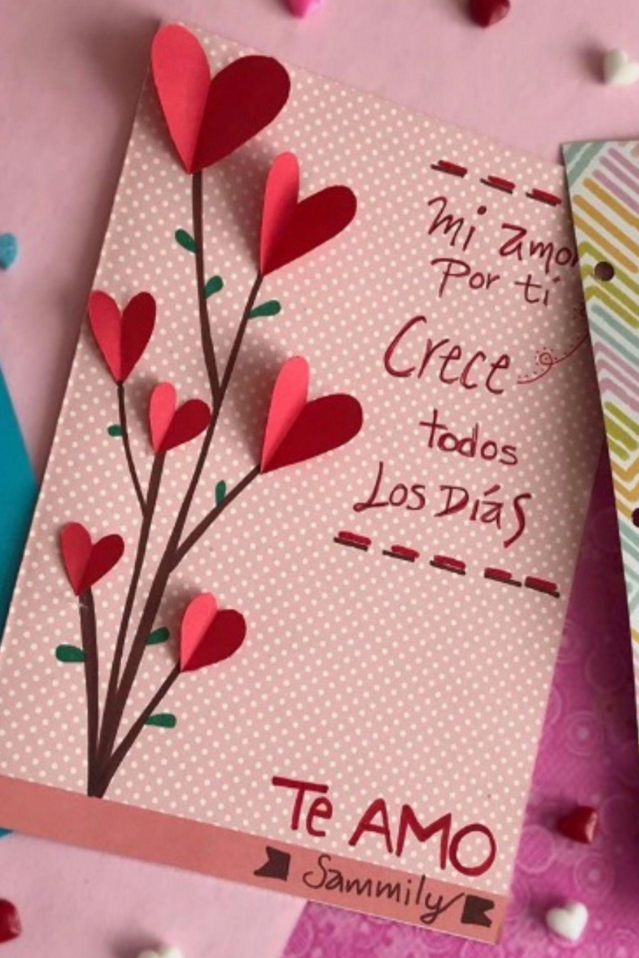 Hacer tarjetas del dia de la amistad
