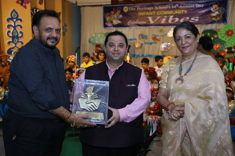 heritage school infant community celebrated to 64th annual day vibes