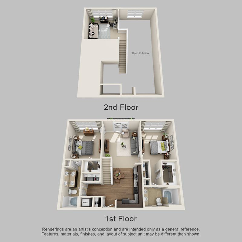 Floor Plans Of Meridian At Harrison Pointe In Cary Nc With Images Floor Plans Flooring Modern House