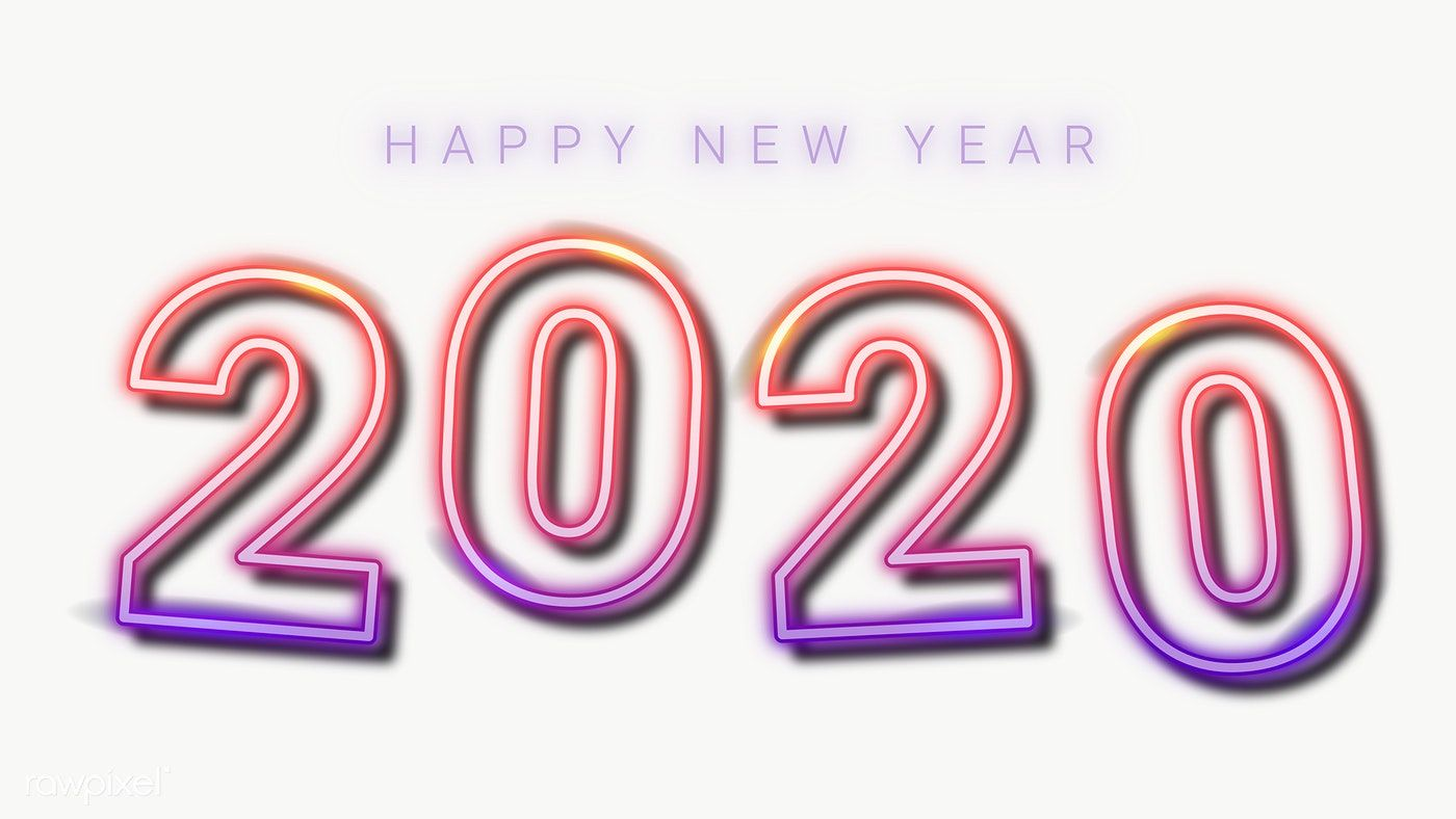 download premium png of neon happy new year 2020 wallpaper transparent png happy new year images happy new year gif happy new year 2020 year 2020 wallpaper transparent png