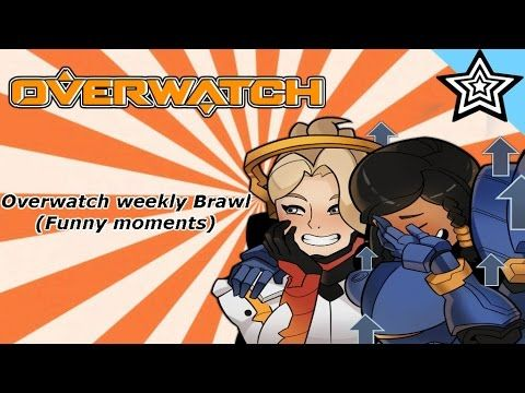 Overwatch Weekly Brawl Funny Moments Senpai Touching Tips With
