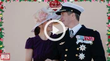 Danskernes tillykke til kronprinsparret
