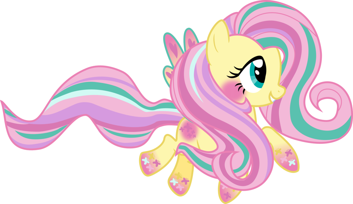 Rainbow Power Fluttershy by Strawberry-Pannycake ...