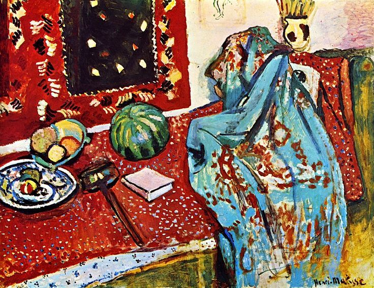 Still LIfe with Red Carpet (also known as Oriental Rugs) / Henri Matisse