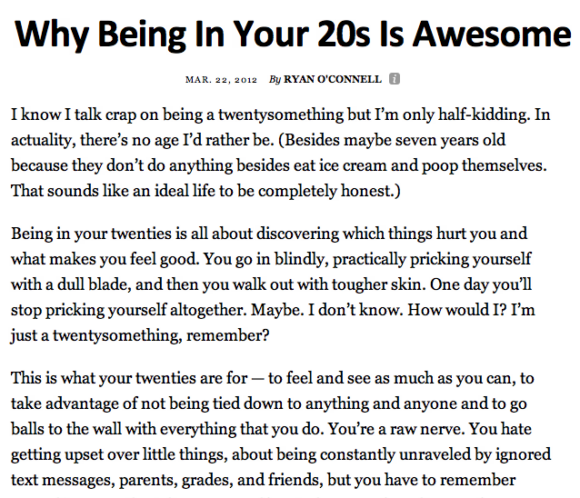 Why Being In Your 20s Is Awesome Law Of Attraction Pinterest