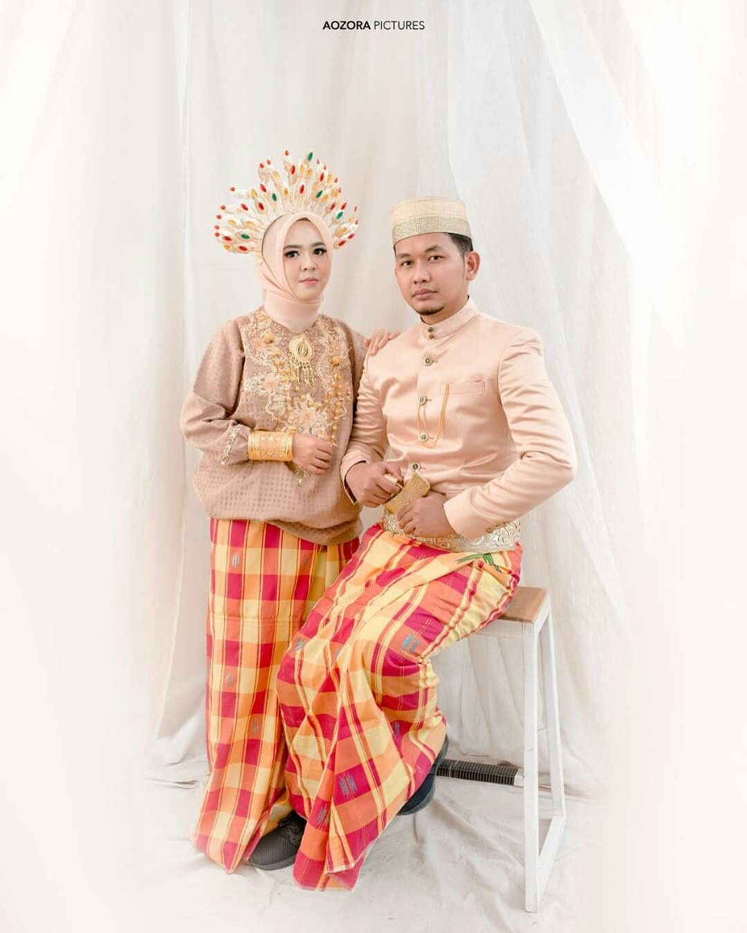 Gambar Pakaian Adat Sumatra Selatan