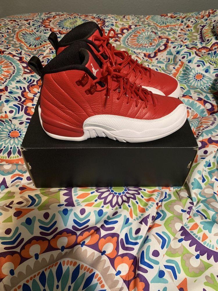 79941359410072 Mens Nike Air Jordan Retro 12 Gym Red  fashion  clothing  shoes   accessories  mensshoes  athleticshoes (ebay link)