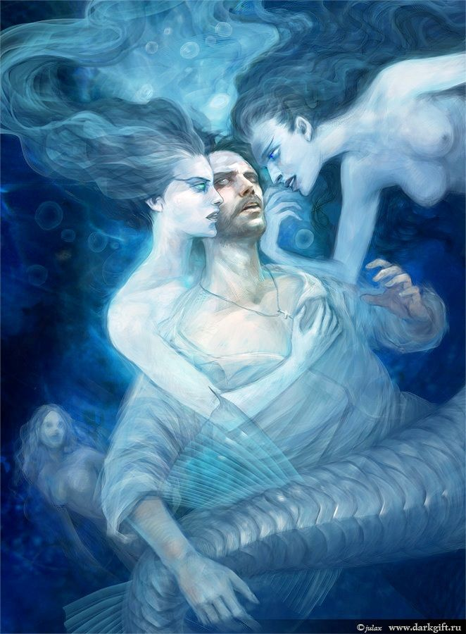 Pisces Take A Long Time To Get Over People Its One Of Their Biggest Flaws Art Julia Alekseeva
