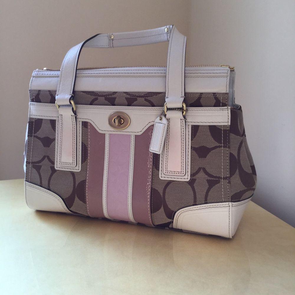 COACH double handle bag #Coach #TotesShoppers