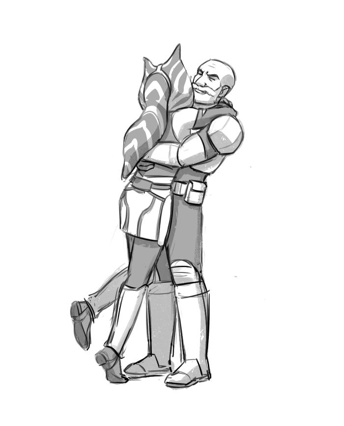 Rexsoka: Rex and Ahsoka: Captain and Commander : Photo   Ashoka and ...