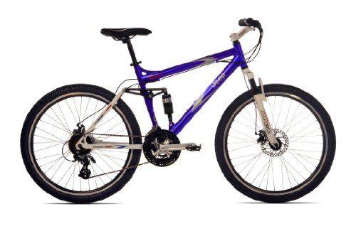Dual Suspension Mountain Bike >> Jeep Cherokee Men S Dual Suspension Mountain Bike 26 Inch Wheels