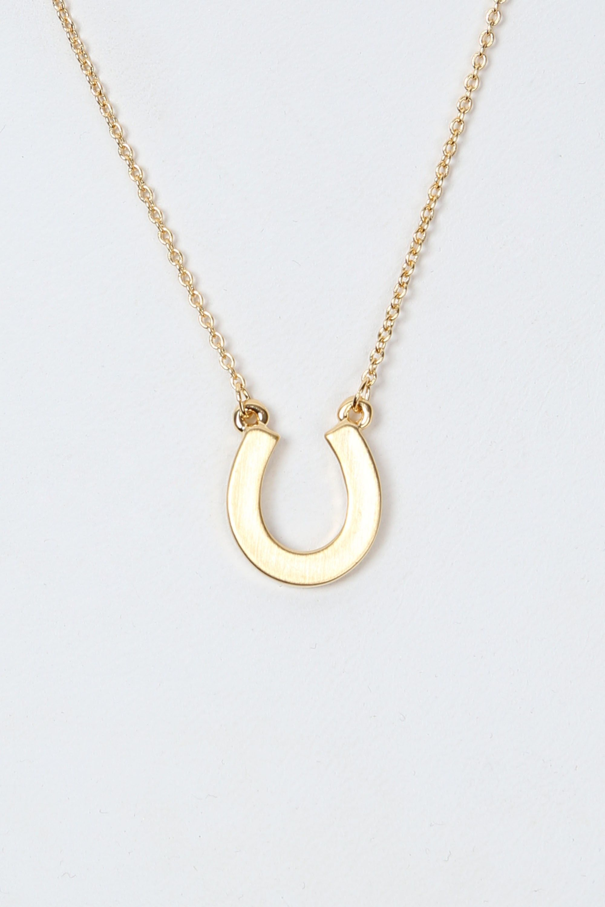 horsegold horse necklace gold