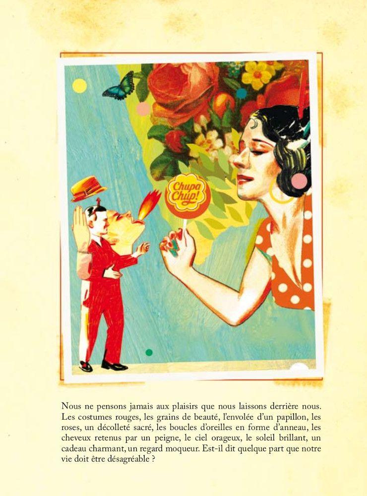 Chromorama, comme un album de vignettes personnelles. 80 pages d'illustrations inédites de Sonia Pulido, jeune virtuose du collage graphique, accompagnées des textes de Peio H. Riano qui confèrent à (...)