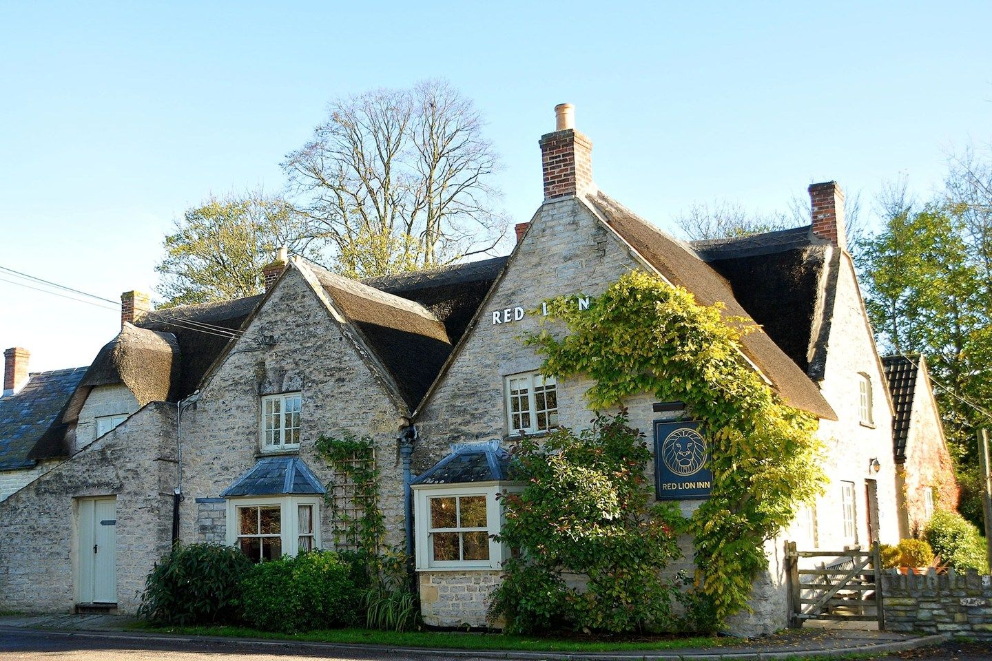 The Red Lion Inn at Babcary, Somerset