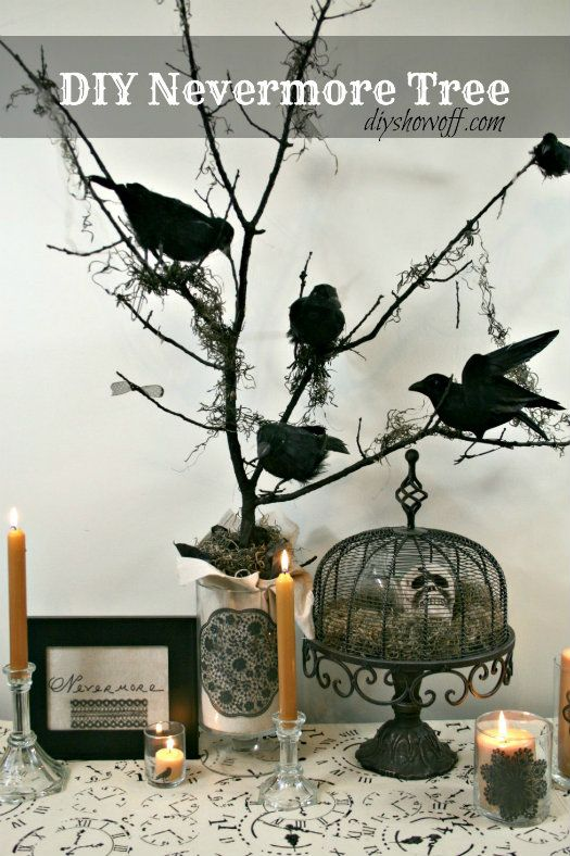 My Kind Of Introduction 12 DIY Indoor Halloween Decorations - halloween party centerpieces ideas