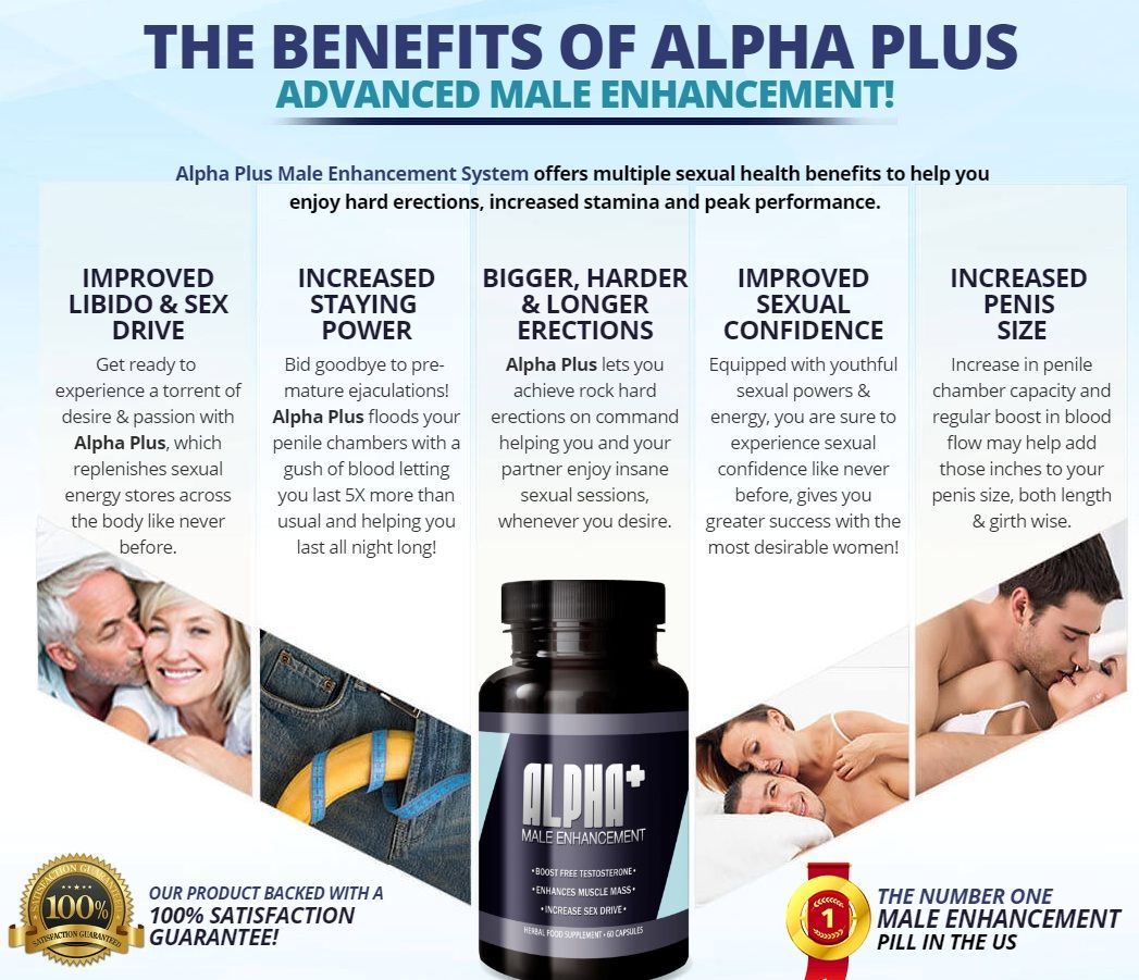 Alpha Plus Male Enhancement Includes Herbal Components That Are