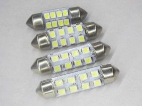 Kfz Led Soffitte C10w Xenonweiss 12v 31mm 36mm 37mm 39mm 41mm 42mm Ledkauf24 De Led Ambiente Und Beleuchtungslosungen Fur Led Leuchtmittel Led Leuchtmittel