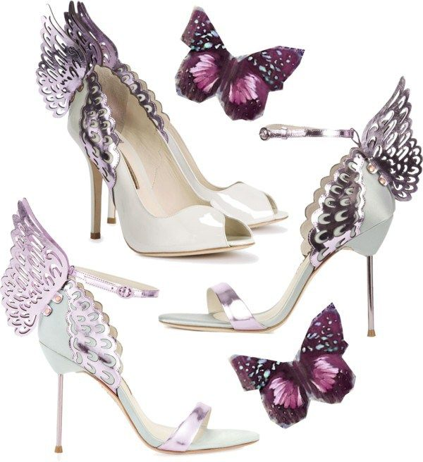 Sophia Webster Evangeline Butterfly Winged Sandals #Shoes #Heels