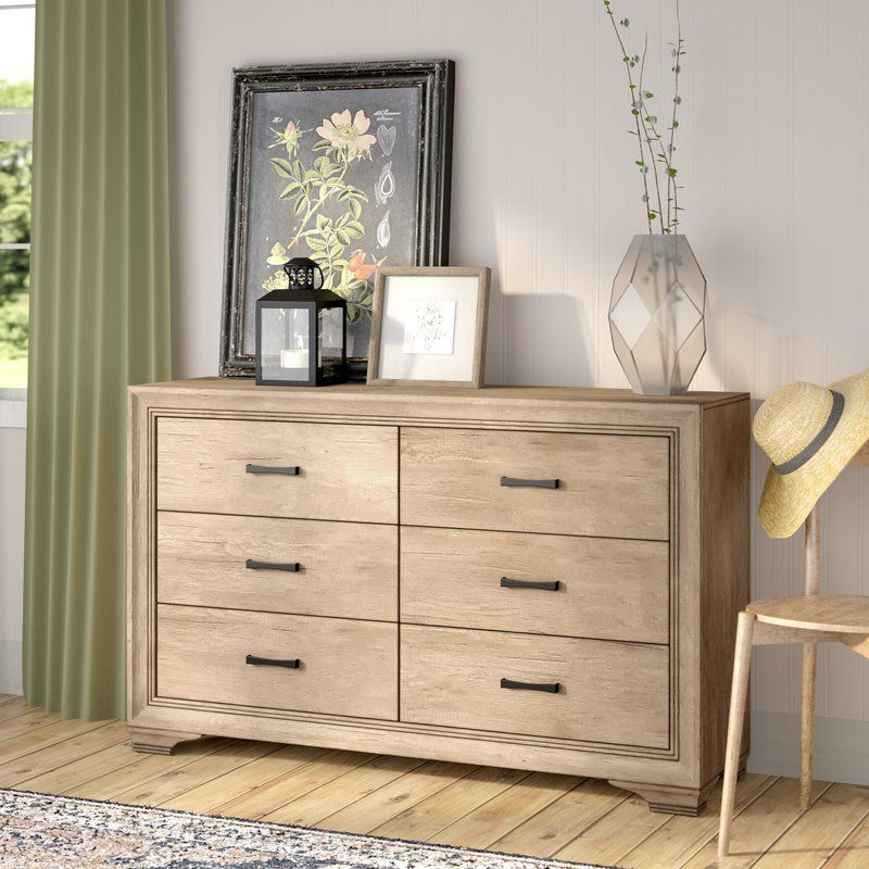 Payne 6 Drawer Double Dresser Furniture Double Dresser Dresser