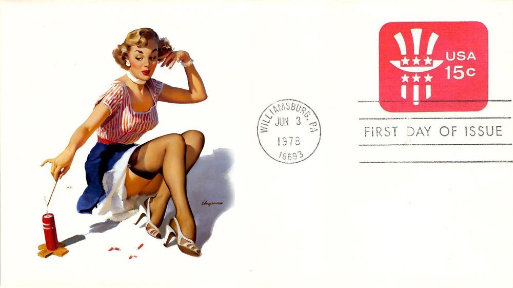 1978 15c Embossed Envelope First Day Cover
