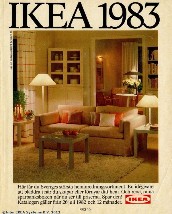 Home Decor Catalog: Coperta Catalogului IKEA 1983