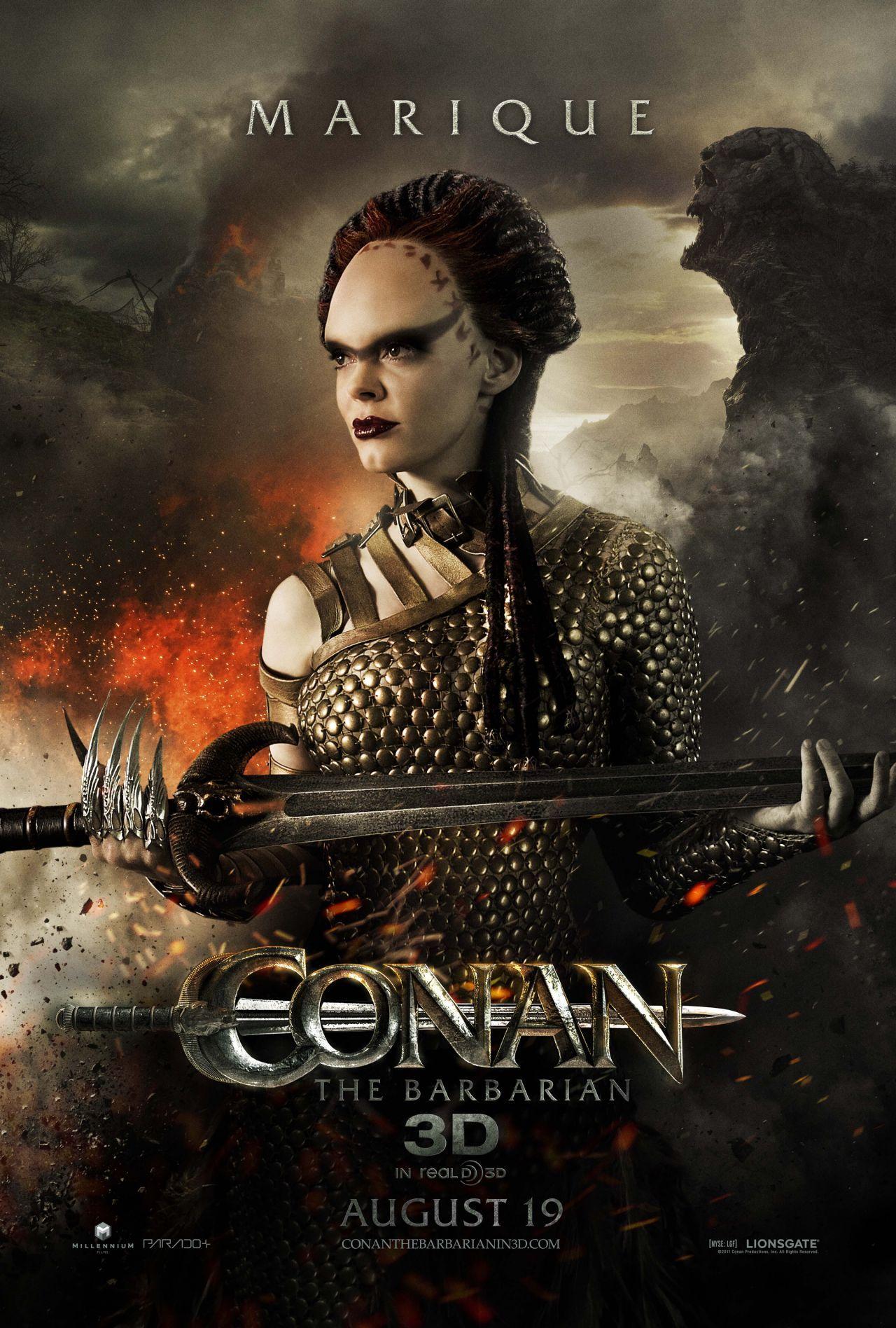 Conan 2011 Cool rose mcgowan - conan the barbarian 2011   women of action/fantasy