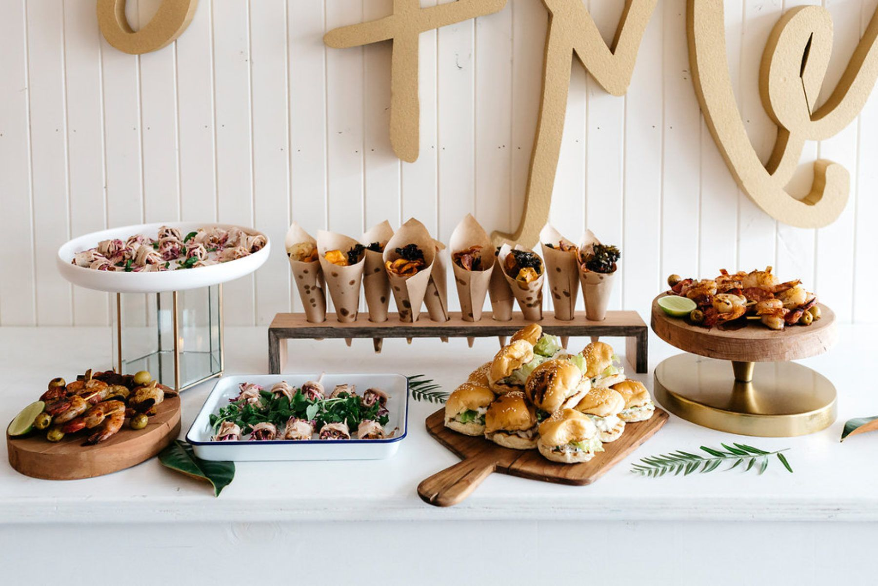 Gilded Industrial Editorial At Gather Tailor Cookie Table